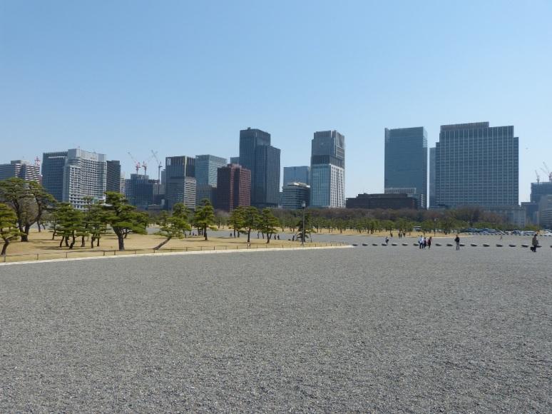 palacio imperial - parque